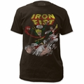 Iron Fist fitted jersey t-shirt Logo mens coal pre-order