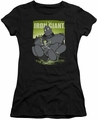 Iron Giant juniors t-shirt Helping Hand black