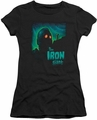 Iron Giant juniors t-shirt Look To The Stars black