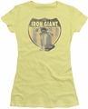 Iron Giant juniors t-shirt Patch banana