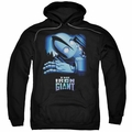 Iron Giant pull-over hoodie Giant And Hogarth adult black