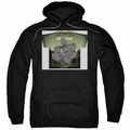 Iron Giant pull-over hoodie Helping Hand adult black