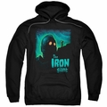 Iron Giant pull-over hoodie Look To The Stars adult black