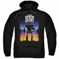Iron Giant pull-over hoodie Poster adult black