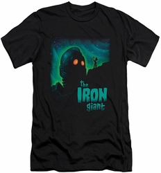 Iron Giant slim-fit t-shirt Look To The Stars mens black