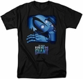 Iron Giant t-shirt Giant And Hogarth mens black