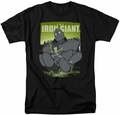 Iron Giant t-shirt Helping Hand mens black