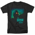 Iron Giant t-shirt Look To The Stars mens black