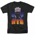 Iron Giant t-shirt Poster mens black
