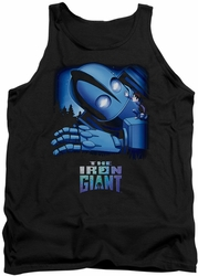 Iron Giant tank top Giant And Hogarth mens black