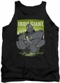 Iron Giant tank top Helping Hand mens black