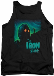 Iron Giant tank top Look To The Stars mens black