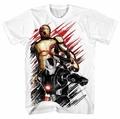 Iron Man 3 50 Caliber-M Px White mens t-shirt XL