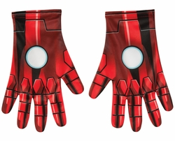 Iron Man adult gloves costume accessory