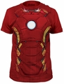 Iron Man suit big print subway tee cardinal t-shirt