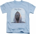 Isaac Hayes kids t-shirt Black Moses light blue