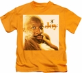 Isaac Hayes kids t-shirt Joy gold