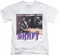 Isaac Hayes kids t-shirt Shaft white