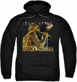 Isaac Hayes pull-over hoodie At Wattstax adult black