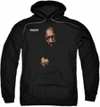 Isaac Hayes pull-over hoodie Chocolate Chip adult black