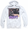 Isaac Hayes pull-over hoodie Shaft adult white