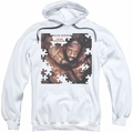 Isaac Hayes pull-over hoodie To Be Continued adult white