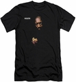 Isaac Hayes slim-fit t-shirt Chocolate Chip mens black