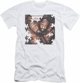 Isaac Hayes slim-fit t-shirt To Be Continued mens white
