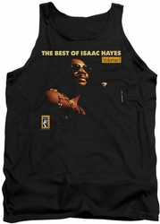 Isaac Hayes tank top Chain Vest mens black