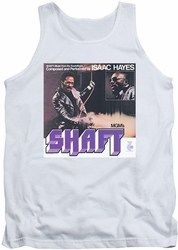 Isaac Hayes tank top Shaft mens white