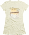Its A Wonderful Life juniors t-shirt Wonderful Story cream