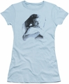 James Dean juniors t-shirt Picture This Too light blue