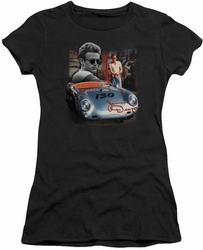 James Dean juniors t-shirt Sunday Drive black