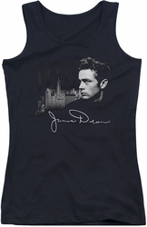 James Dean juniors tank top City Life black