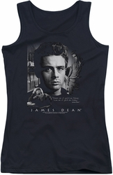 James Dean juniors tank top Dream Live black