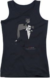 James Dean juniors tank top Exit black