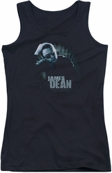 James Dean juniors tank top Sunglasses At Night black