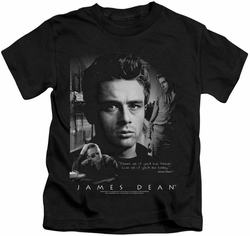 James Dean kids t-shirt Dream Live black