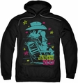 James Dean pull-over hoodie Barb Wire Cowboy adult black