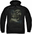James Dean pull-over hoodie Bongo Words adult black