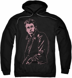 James Dean pull-over hoodie Coat adult black