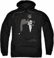 James Dean pull-over hoodie Exit adult black