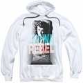 James Dean pull-over hoodie Graphic Rebel adult white