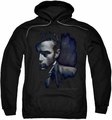 James Dean pull-over hoodie In Shadow adult black
