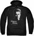 James Dean pull-over hoodie Intense Stare adult black