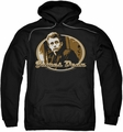 James Dean pull-over hoodie Looking Back adult black