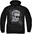 James Dean pull-over hoodie Movie Star adult black