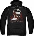 James Dean pull-over hoodie New York Shades adult black