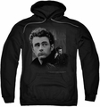 James Dean pull-over hoodie Not Forgotten adult black