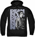 James Dean pull-over hoodie NYC adult black